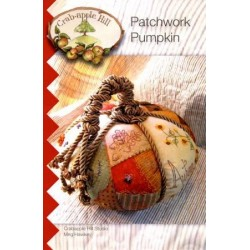 Crab-apple Hill Patchwork pumpkin CAH308