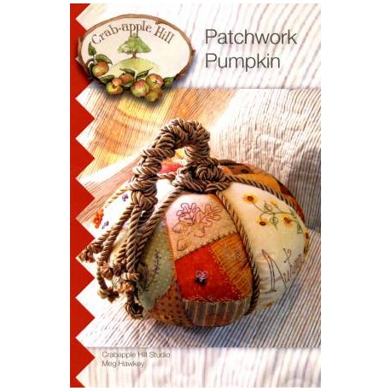 Crab-apple Hill Patchwork pumpkin CAH308