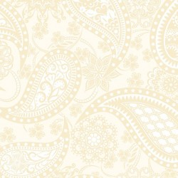 Jubilee Wide Paisley Cream 5490W-07