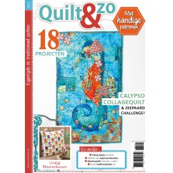 Tijdschrift Quilt&Zo nummer 61