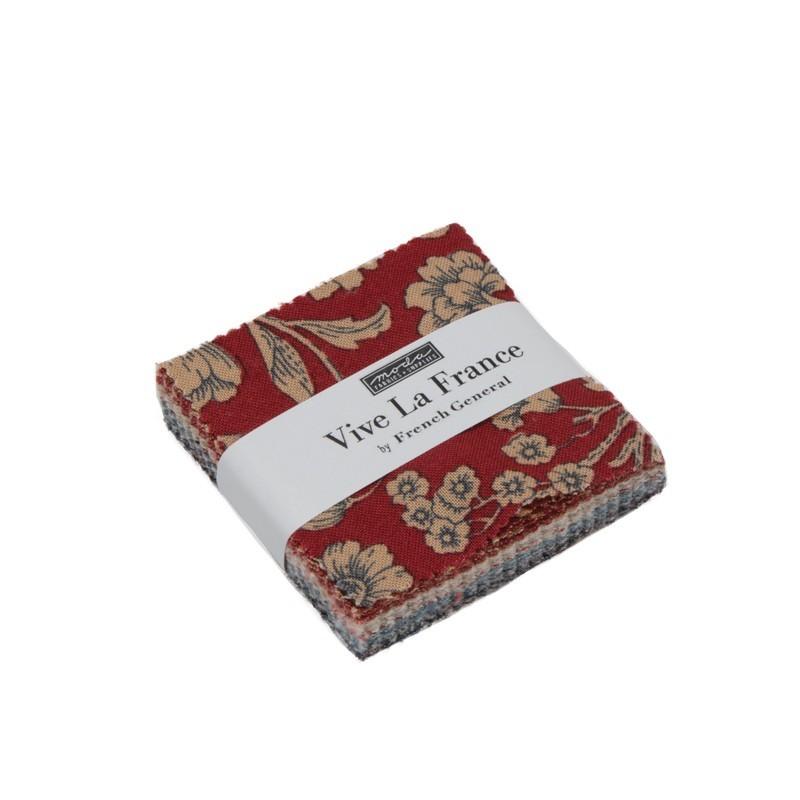Vive La France mini charm pack 13830MC