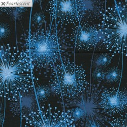 Pearl Reflections Dandelion Fields Blue/Black 8459P-55