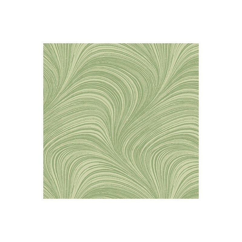 Wide Wave Texture Green 2966W-42