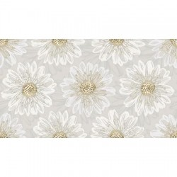 Shiny Objects Good as Gold Embossed Blooms FF500-PE6M