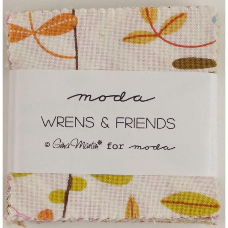 Wrens&Friends mini charm pack 10000MC