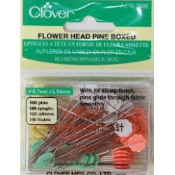 Clover flower head pins 2082506