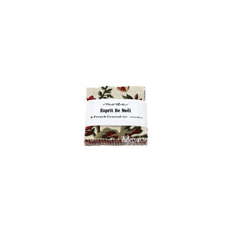 Esprit De Noel mini charm pack 13640MC