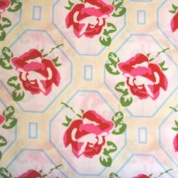 Sugar Hill Rose trellis ivory PWTW046-ivory